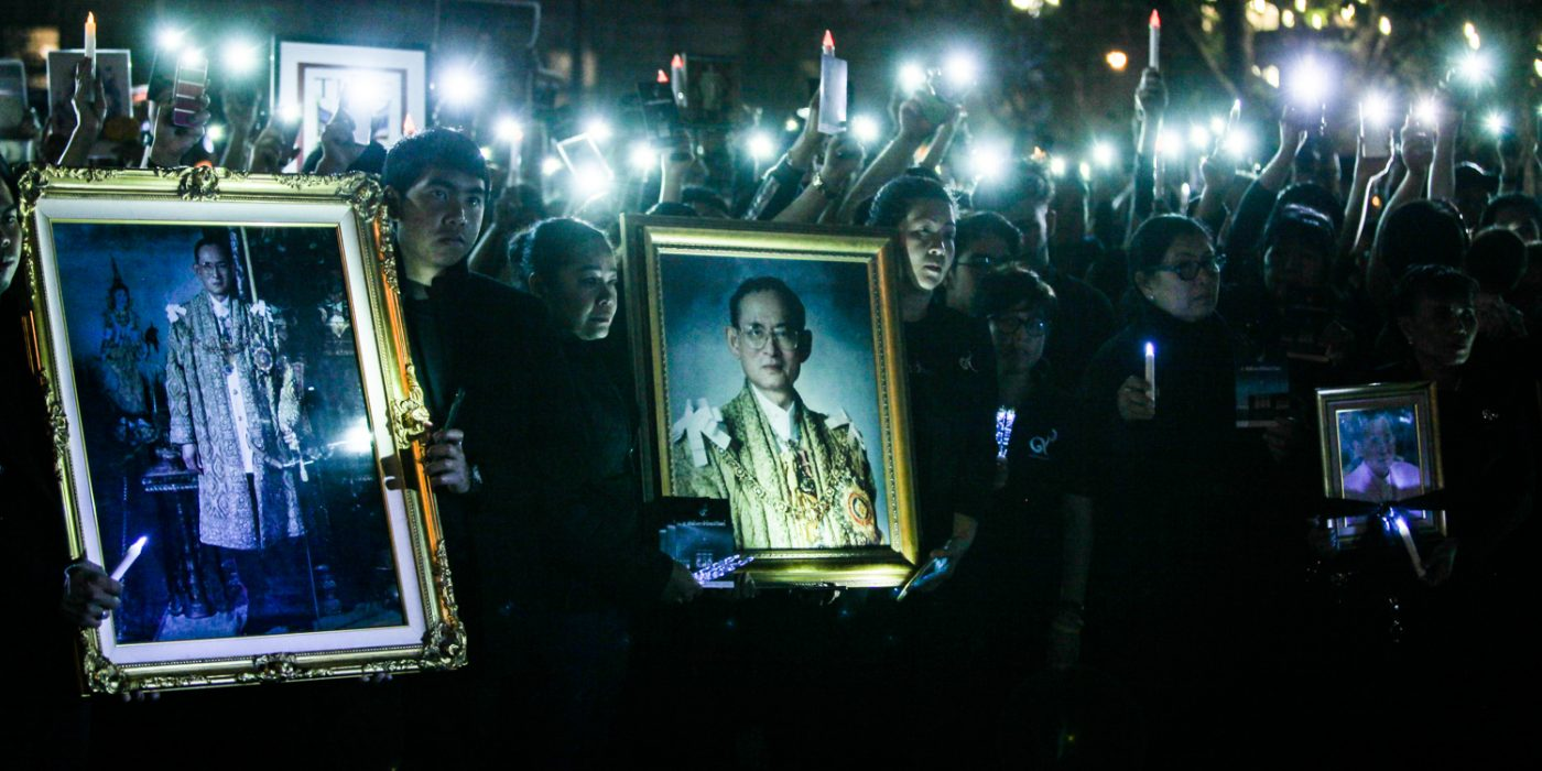Thai mourners in San Francisco pay final respects to Thailand's late King Bhumibol Adulyadej