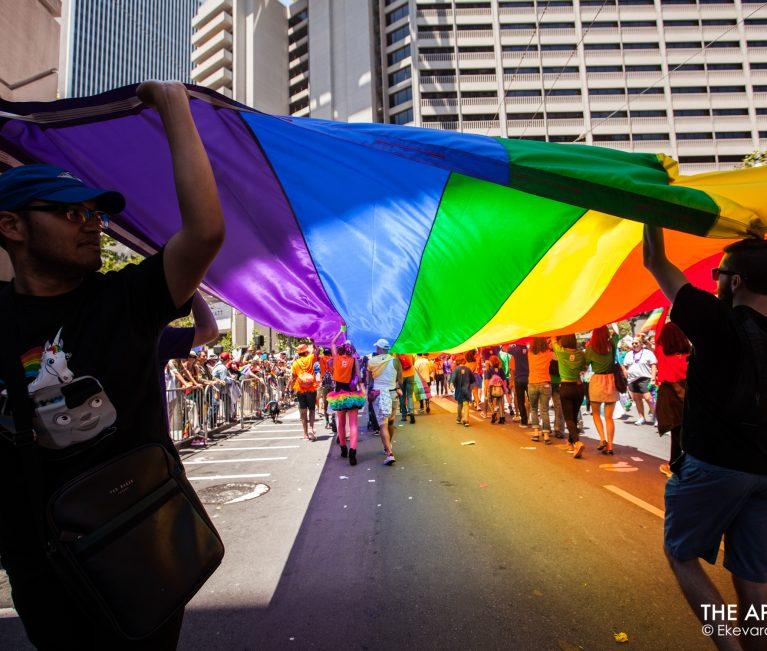 LGBTQ SF PRIDE PARADE 2018