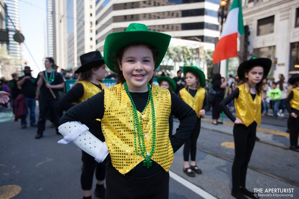 Participants in costume take part in the 168th annual San Francisco St. Patrick's Day Parade on Saturday, March 16, 2019, in San Francisco, Calif. (Photo by Ekevara Kitpowsong/Current SF)